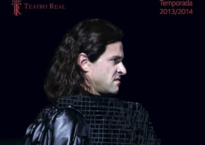 Teatro Real Madrid, Cortez in Rihms Eroberung von Mexiko
