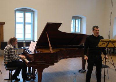 Steffen Schleiermacher & Holger Falk Rehearsal