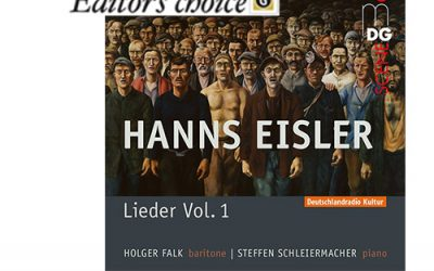 "Eisler CD Vol. 1: ""Editor's Choice"" Magazine ""Gramophone"""