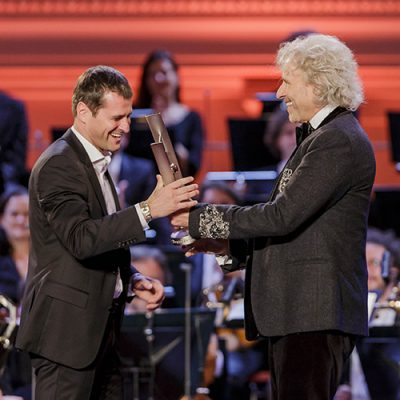 "Holger Falk wins ""Echo Klassik"" 2016"