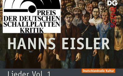 """Holger Falk and Steffen Schleiermacher awarded with """"Jahrespreis der deutschen Schallplattenkritik"""""""