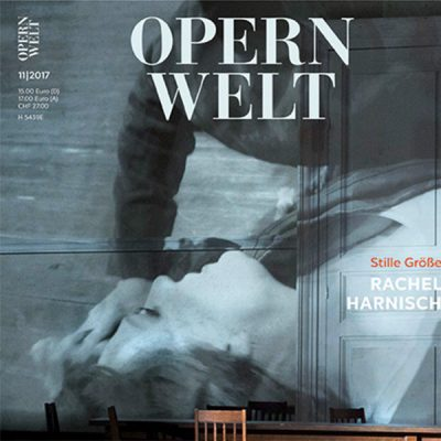 Hanns Eisler Lieder Vol. 1 CD of the month November in Magazine OPERNWELT