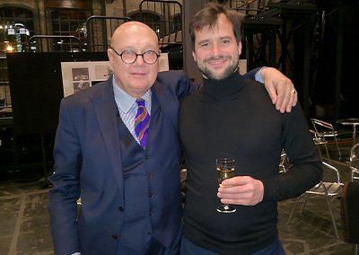 "Holger Falk with Manfred Trojahn, ""Enrico"", Frankfurt, 2018"