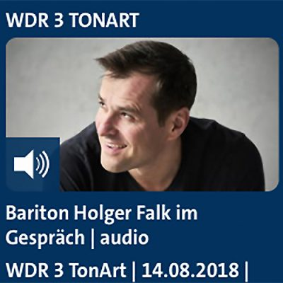 Holger Falk im Gespräch bei WDR3 TonArt