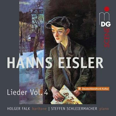 Holger Falk and Steffen Schleiermacher release Hanns Eisler/A collection of songs vol. 4 : Songs 1917-1927. The award winning Hanns Eisler Edition is complete.