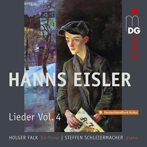 Holger Falk and Steffen Schleiermacher release Hanns Eisler/A collection of songs vol. 4 : Songs 1917-1927. The award winning Hanns Eisler Edition is complete.