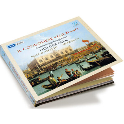 "Holger Falks new CD ""Il Gondoliere Veneziano: a musical voyage through Venice"" released at Prospero records"
