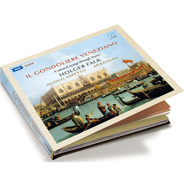"Holger Falks new CD ""Il Gondoliere Veneziano: a musical voyage through Venice"" released at Prospero records"