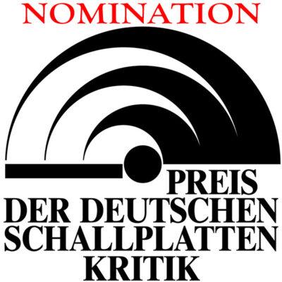 "Holger Falk again nominated for ""Preis der deutschen Schallplattenkritik 2020"" (German record critics award 2020)"