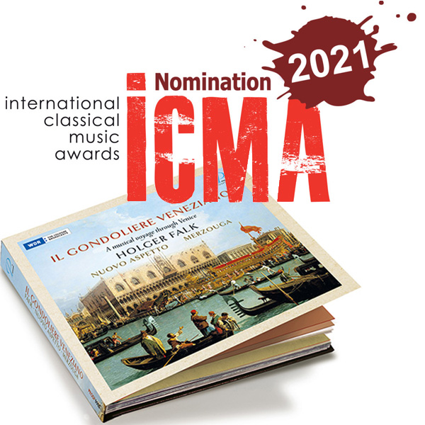 """Il gondoliere veneziano"" – Nomination for the International Classical Music Award 2021"
