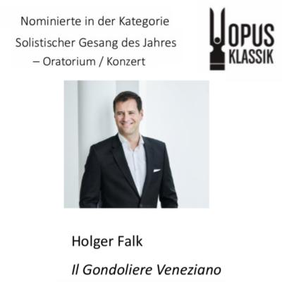 """Il Gondoliere Veneziano"": five OPUS KLASSIK award nominations"