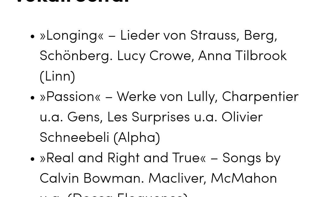 Honegger CD: Longlist of the Preis der deutschen Schallplattenkritik